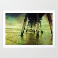 Wrightsville Beach Art Print