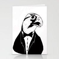 Falcon Tux Stationery Cards