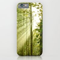 iPhone & iPod Case featuring A Light Peeks Through by klark