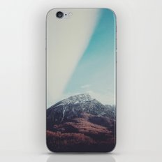 Mountains in the background XIII iPhone & iPod Skin