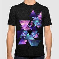 cosmos  Mens Fitted Tee Tri-Black SMALL