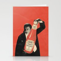 Vegetarian Vampire Stationery Cards