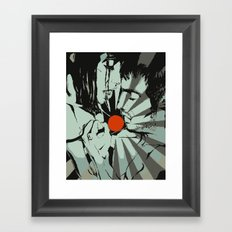 Grey Ray Framed Art Print
