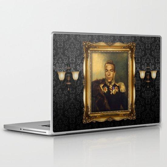 Sir Chris Hoy - replaceface Laptop & iPad Skin
