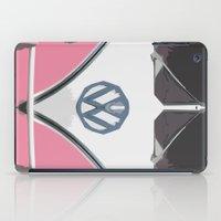 Pink Love Bus Redux iPad Case