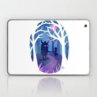 Making Friends With Mons… Laptop & iPad Skin