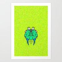 Slime Art Print