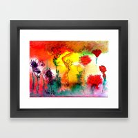 Amaranth Framed Art Print