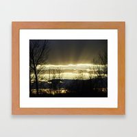 Journey On Framed Art Print