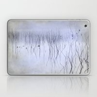 Cormorants in the fog Laptop & iPad Skin