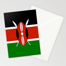 Kenyan national flag - Authentic version Stationery Cards