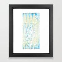 Blue Hues Framed Art Print