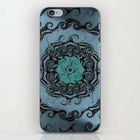 Tattoo of teardrops iPhone & iPod Skin