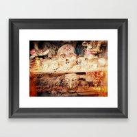 Tribal Skulls - A Solar … Framed Art Print