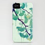O Ginkgo (in Green) iPhone (4, 4s) Slim Case