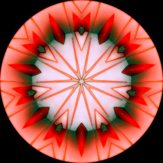 Mandala 3. Art Print