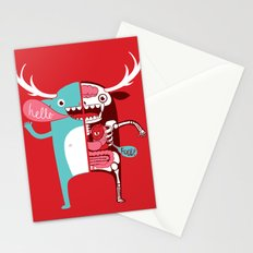All monsters are the same! Stationery Cards