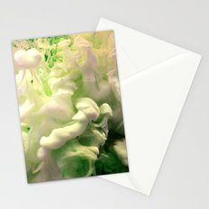 Green envy Stationery Cards