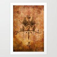 Zodiac:  Leo Art Print