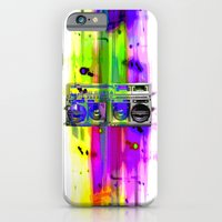 iPhone Cases featuring Jam by Kris Klein