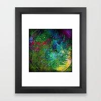 Circle Of Pure Joy Framed Art Print
