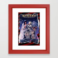 Beetlejuice: Ripped And … Framed Art Print
