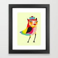 All Eyes On Me Framed Art Print