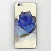 something blue... iPhone & iPod Skin