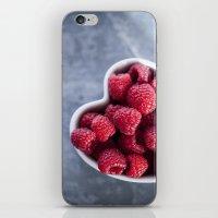 Raspberries For A Health… iPhone & iPod Skin