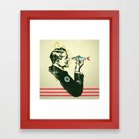 Hypnotic Sardine  Framed Art Print