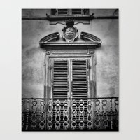 Juliet's Balcony Canvas Print