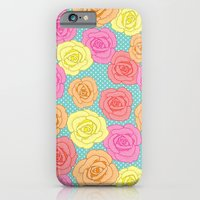 Spotty Rose iPhone 6 Slim Case