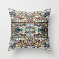 UNTITLED ⁜ ALIGNED #04… Throw Pillow