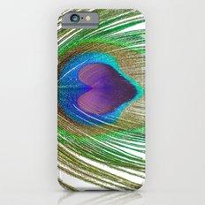 Peacock Love iPhone 6s Slim Case