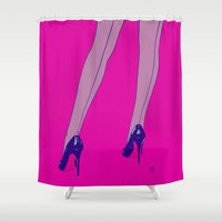 shoes 6 Shower Curtain