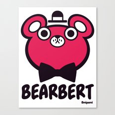 Bearbert Canvas Print
