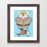 Sherif Fatman And Fast F… Framed Art Print