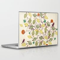autumn Laptop & iPad Skins featuring Autumn by Kakel