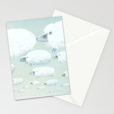 Cloudy Sheep Stationery Cards