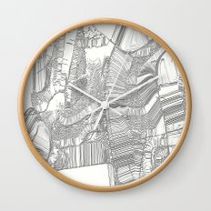 Black and white design Wall Clock
