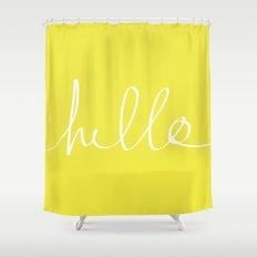 Hello x Sunshine Shower Curtain