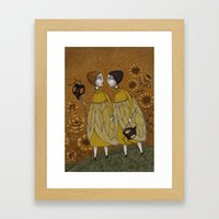 To Save the BEES! Framed Art Print