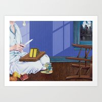Domestic Scene Art Print