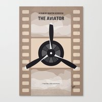 No618 My The Aviator Min… Canvas Print