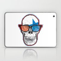 The 3D Star Punk Laptop & iPad Skin