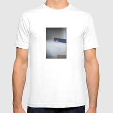 wall's detail White Mens Fitted Tee SMALL