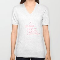 User manual Unisex V-Neck