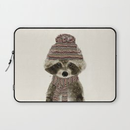 Laptop Sleeve - little indy raccoon - bri.buckley