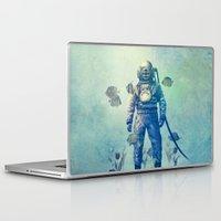 sea Laptop & iPad Skins featuring Deep Sea Garden  by Terry Fan