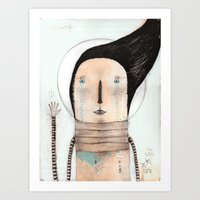 Letting Go Doesn't Mean … Art Print